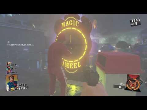 Call of duty Infinite warfare zombies ps4 Magic wheel pimp clowns 1980s Arcade theme park