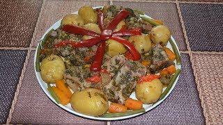 Свиные ребрышки, запеченные в духовке с овощами в рукаве. Как ВКУСНО приготовить свиные ребра