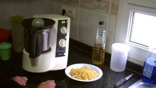 Cocer pasta en thermomix