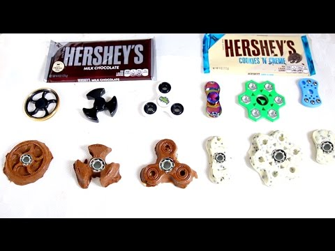 Thumbnail: 6 DIY Chocolate Fidget Spinners ~ How to Make an Edible EDC Hand Spinner Tutorial
