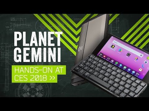Planet Gemini PDA Hands-On: The Dream Of The 90s Is Alive