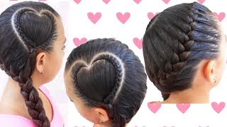 Trenza Corazon/ Peinado San Valentin trenza corazon /Braid Heart
