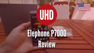 Elephone P7000 Review (4K UHD)