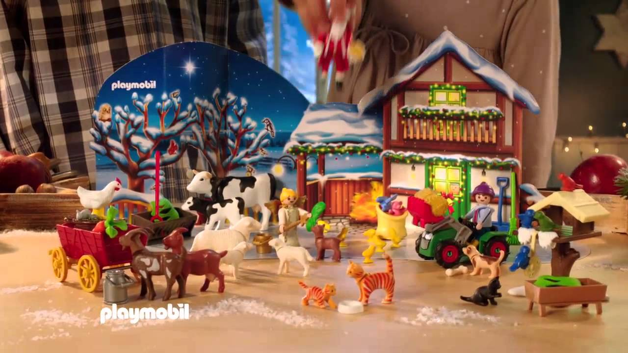 Playmobil adventskalender 2015 - YouTube