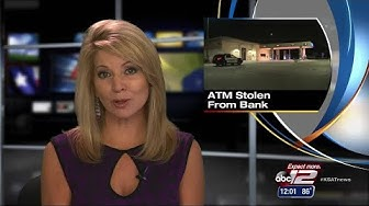 VIDEO: ATM stolen from Chase Bank branch