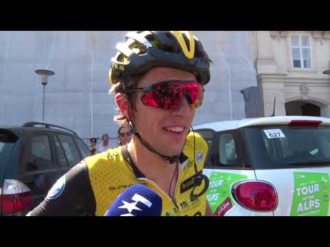 George Bennett - Post-race interview - Stage 5 - Tour of the Alps 2018
