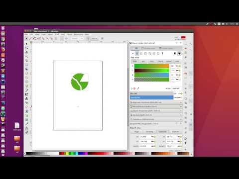 Inkscape 1.0 Alpha GTK3 on Ubuntu Linux