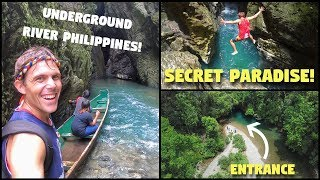 Philippines UNDERGROUND RIVER (Not Palawan) | Best FILIPINO Guides Up North