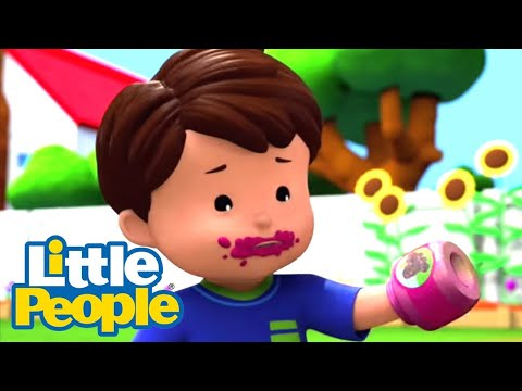 Fisher Price Little People 131 | Don't Judge A Book By Its Sparkles | New Episodes HD | Kids Movies