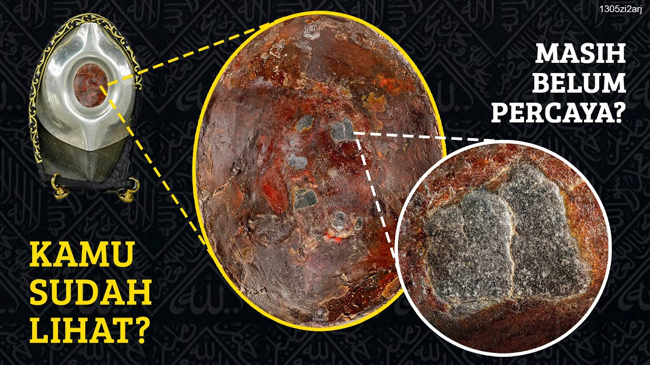 MASYA ALLAH, Batu Hajar aswad di 'ZOOM' 4000 kali, Sabda Nabi Terbukti?