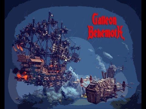 Besiege Imperial Galleon Behemott (Mine Flying Ship)