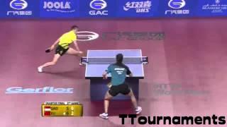 Xu Xin Vs Gao Ning: 1/4 Final: Qatar Open 2014