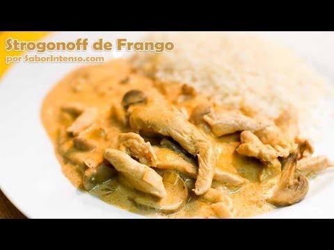 Receita de Strogonoff de Frango