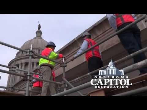 Oklahoma Capitol Restoration – Tom Cole Tour