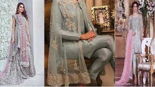 best silver partywear  dresses for girls //pakistani bridal dresses 2017 \ Fashion Alert of 2017