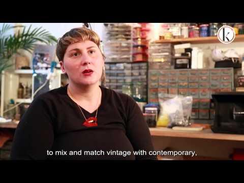 Alice Hubert - French costume jewelry designer