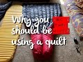 Why You Should Switch To A Backpacking Quilt - Ask A Thru Hiker