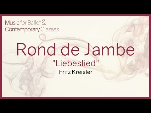 "Piano Music for Ballet Classes. Rond de Jambe ""Liebeslied"" - Fritz Kreisler"