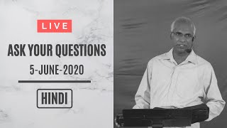 🔴LIVE Q&A || HINDI Session || Ask Pastor Finney