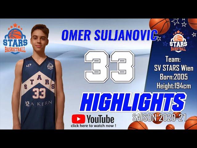 Stars Highlights Factory : OMER SULJANOVIC Saison 2019-20