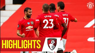 Highlights | Goals Galore As United Beat Bournemouth! | Manchester United 5 2 Bournemouth