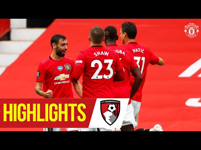 Highlights   Goals galore as United beat Bournemouth!   Manchester United 5-2 Bournemouth - Manchester United