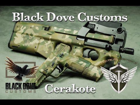 Black Dove Customs Cerakote Fn Five Seven Pistol Fn Ps90 Sbr