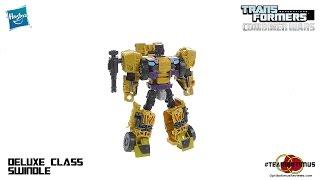 Transformers Combiner Wars Deluxe Class Swindle Video Review