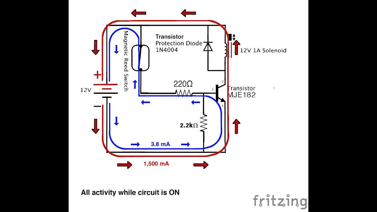 small resolution of magnetically controlled solenoid circuit
