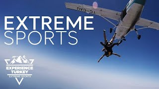 Extreme Sports – Experience Turkey – Teaser | Go Turkey