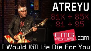 "Atreyu performs ""I Would Kill Lie Die For You"" live on EMGtv"