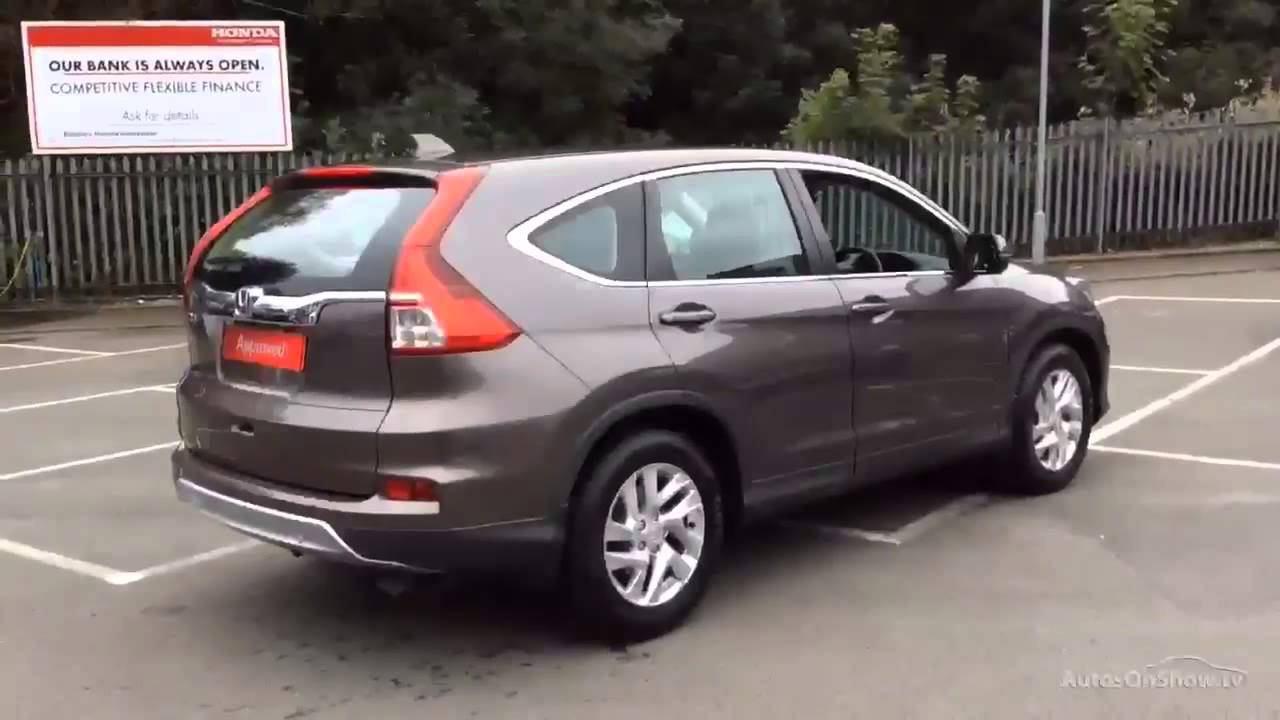honda cr v i vtec se brown 2015 youtube