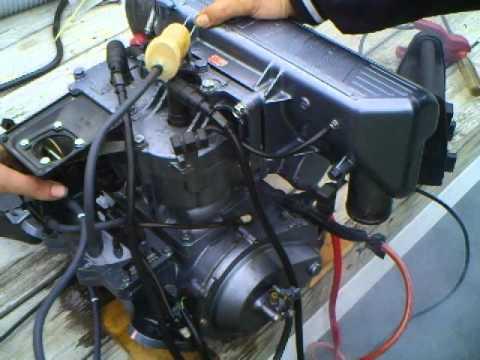Sea Doo Jet Ski Parts Diagram 110cc Wiring Yamaha 650cc Bench Test - Youtube