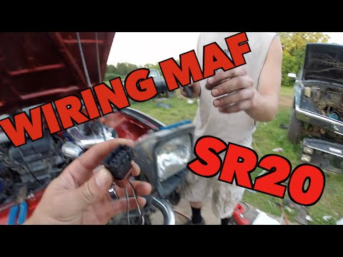how to sr20 swap wiring maf youtube rh youtube com sr20 maf wiring s13 sr20det maf wiring diagram