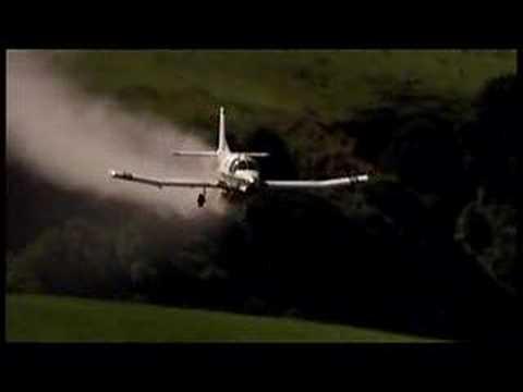 PAC 750XL- Extreme Cropduster Cineflex Aerial Footage