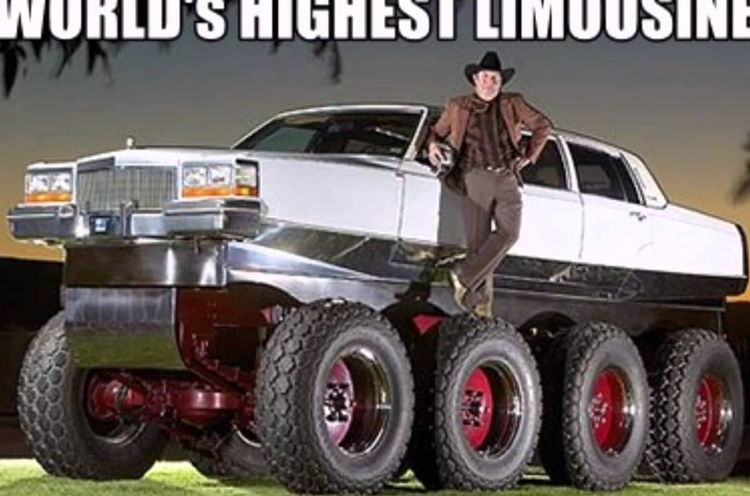 World S Longest Highest Heaviest Limousine Youtube