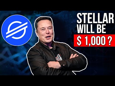 Elon Musk: STELLAR XLM TO THE MOON   XLM Price Prediction & News Today 2021