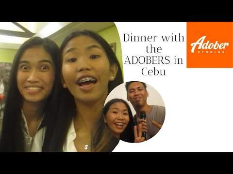 BEST DINNER EVER WITH THE ADOBERS (sophievlogs)