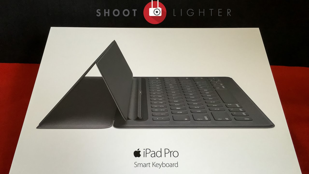 iPad Pro Smart Keyboard Cover & Case Unboxing