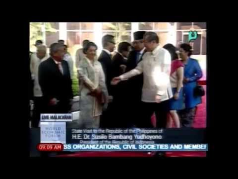 State Visit of Indonesian Pres. Dr. Yudhoyono to the Rep. of the PHL - PTV Coverage [05/23/14]
