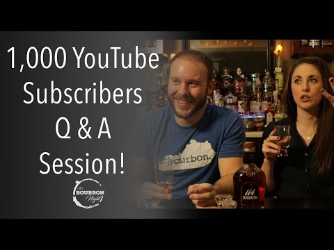 YouTube comments Q & A Session! - It's Bourbon Night