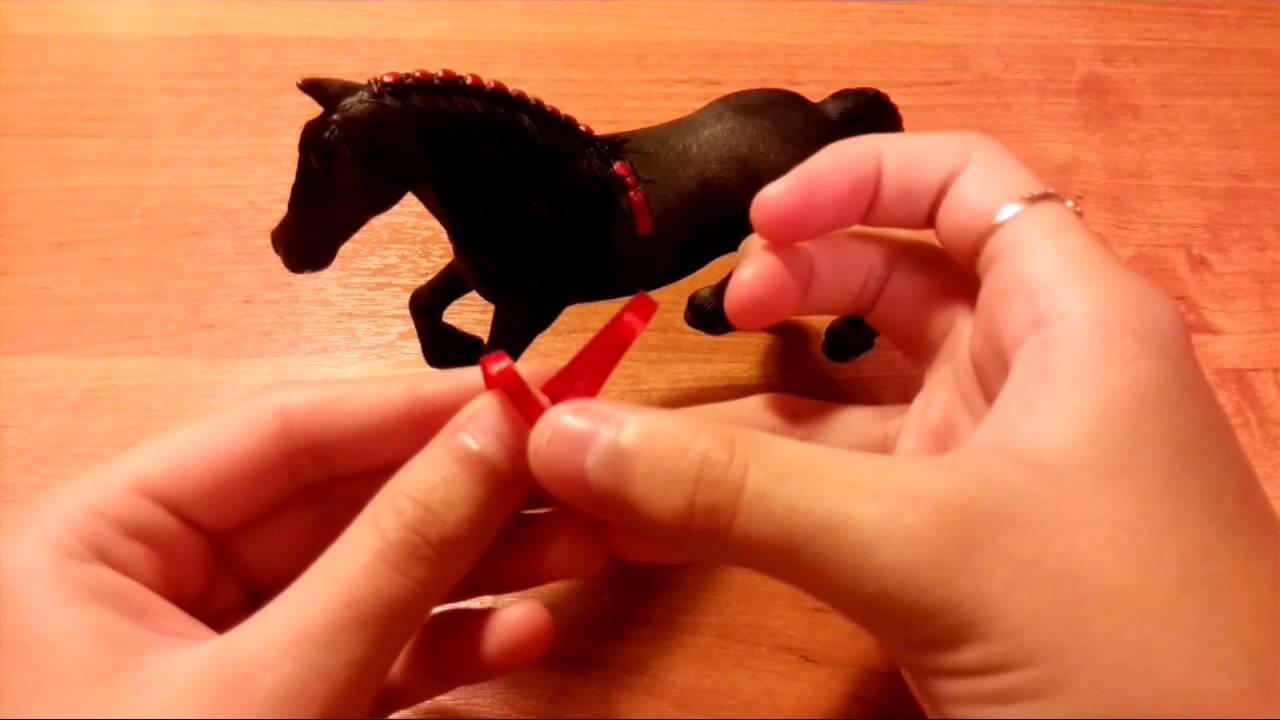 Как сделать игрушечный недоуздок