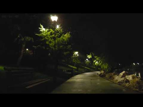 Gentle Sounds of Nature - Sleet Falling in May at Night - 10 Hrs Video with Relaxing Binaural Sounds