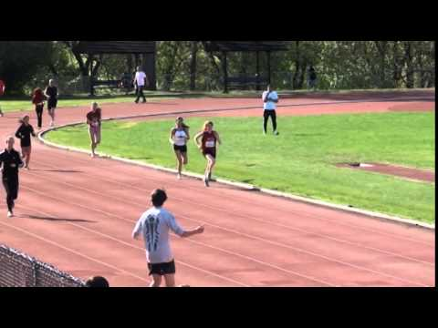 How to finish a race! - 2000m midget highschool championship Montreal - Running distance