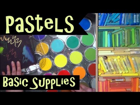 Pastel Info // Basic Supplies // Soft vs. Oil // NEW SERIES in APRIL!