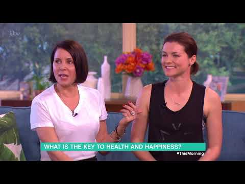 Sadie Frost and Holly Davidson's Secret to a Happy and Youthful Life  This Morning
