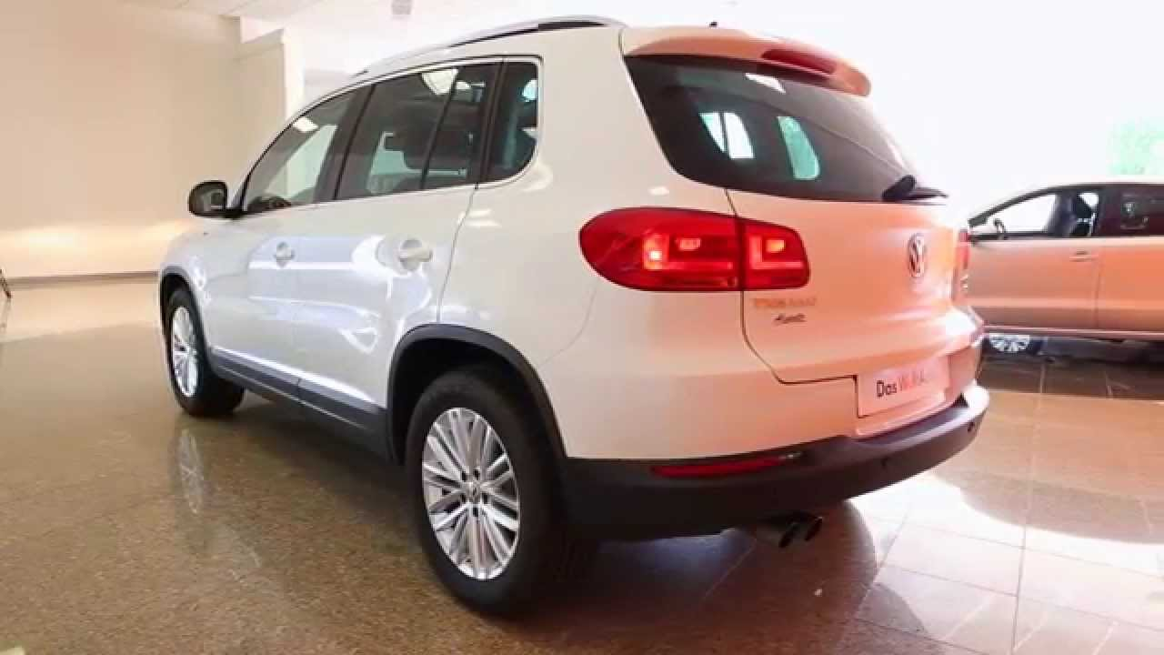 volkswagen tiguan occasion 2 0 tdi 140 fap bluemotion technology cup blanc pur youtube. Black Bedroom Furniture Sets. Home Design Ideas