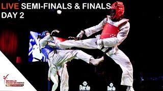 Sofia 2019 World Taekwondo Grand Prix Day 2 Court 2 Session 3 của World Taekwondo 55 phút trước 460 lượt xem