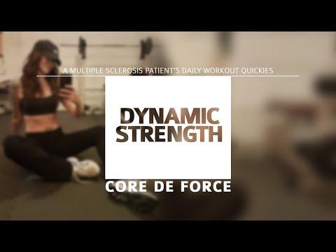 Daily Workout Log - Dynamic Strength (Core de Force)