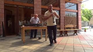 アルメニア観光 伝統音楽(Armenian music in Haghpat )